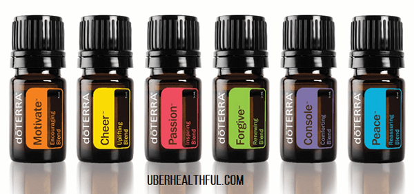 Emotional wellbeing and balance with essential oils