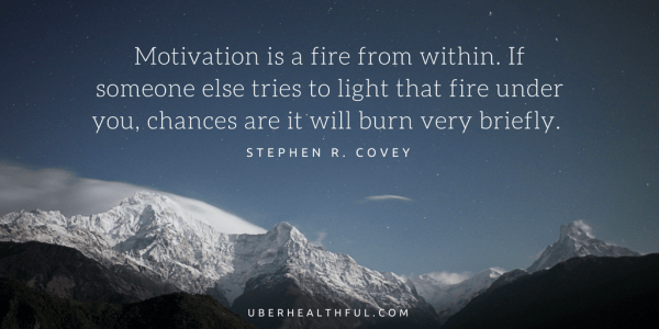 Motivation quote by Stephen Covey