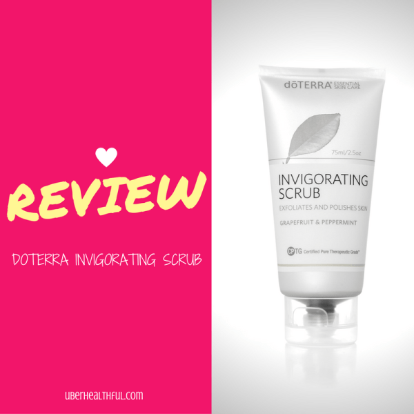 Review of doTERRA Facial Scrub