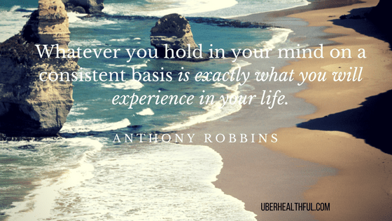 Anthony Robbins quote for consistency