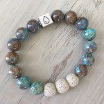 What is the Ancient Agate Essential Oil Diffuser Bracelet?