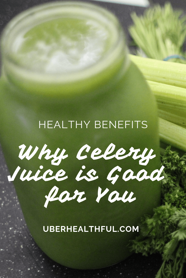 Why celery juice is good for you. Learn about the best juicers.