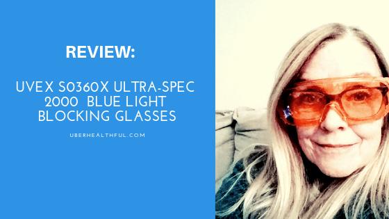 Review: Uvex S0360X Ultra-spec 2000Blue Light Blocking