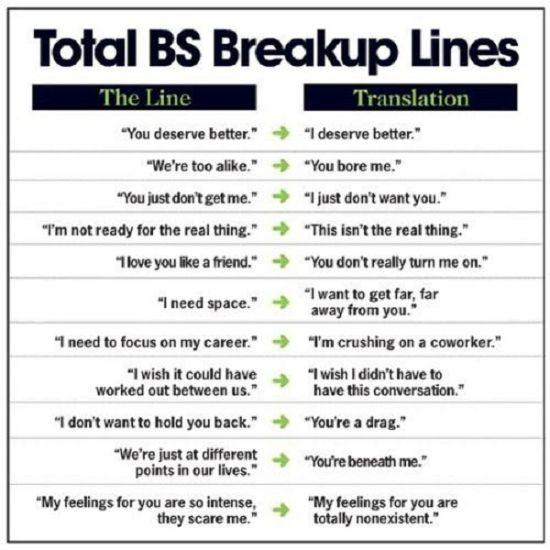 funny breakup