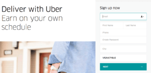 Uber Eats Sign Up Bonus