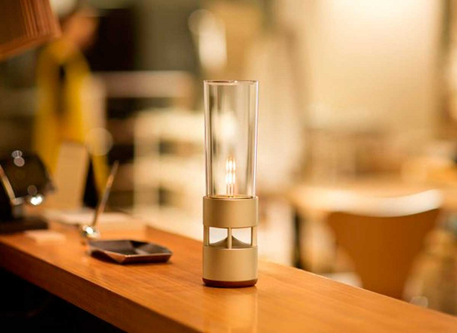 Music gets a new height with this Sony Glass Sound Speaker