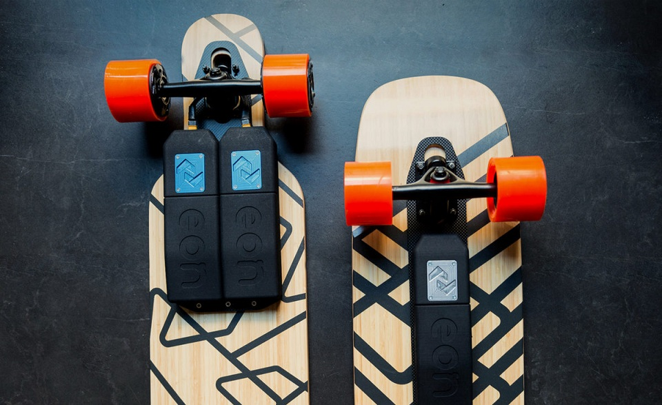 Make your skateboard electric with the super-amazing Eon Skateboard Power-train!