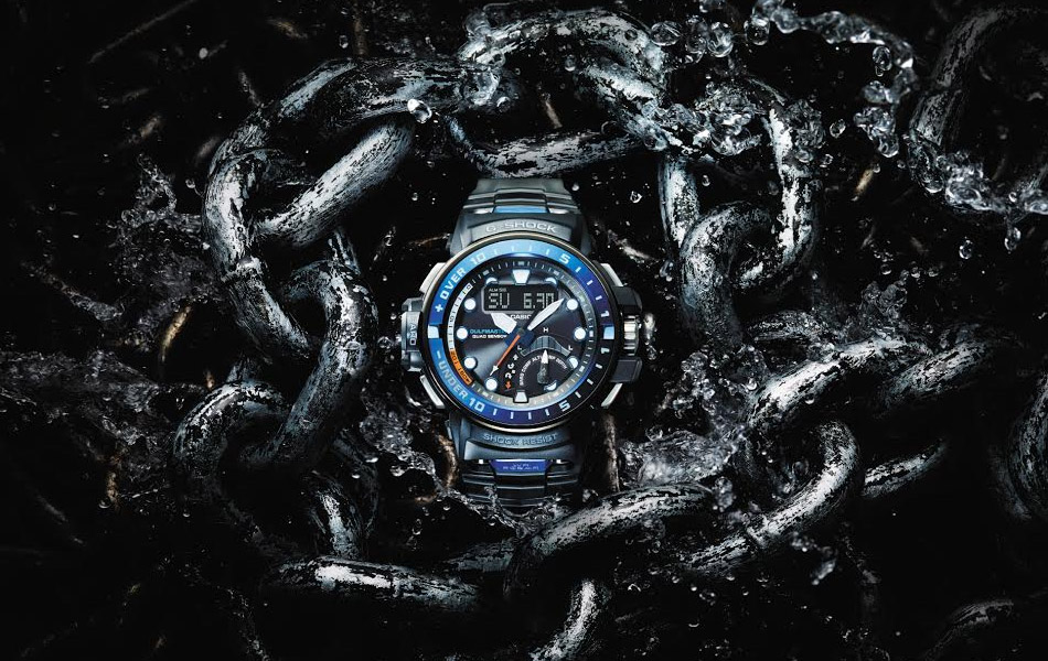 Put the controls onto your wrist with this super cool G-Shock Gulfmaster!