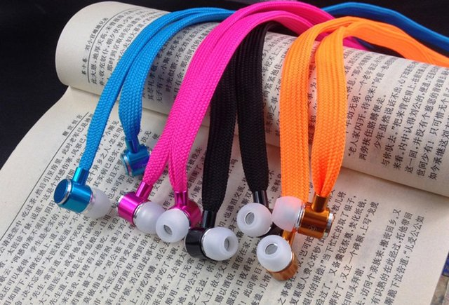 Fabric Shoelace Earphones