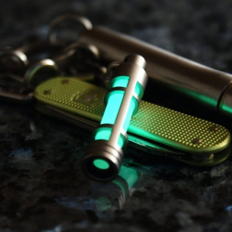 TEC-S3 Stainless Steel Embrite Glow Fob