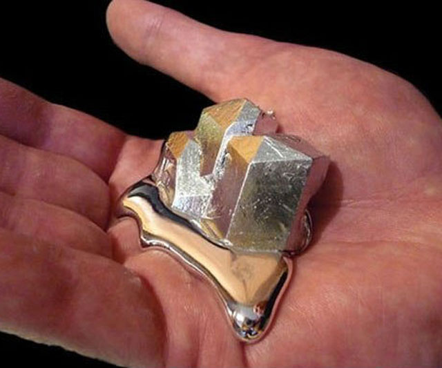 Gallium – Melts-in-Your-Hand Metal