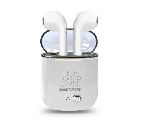 Shinefuture Wireless Earbuds including Charging Case