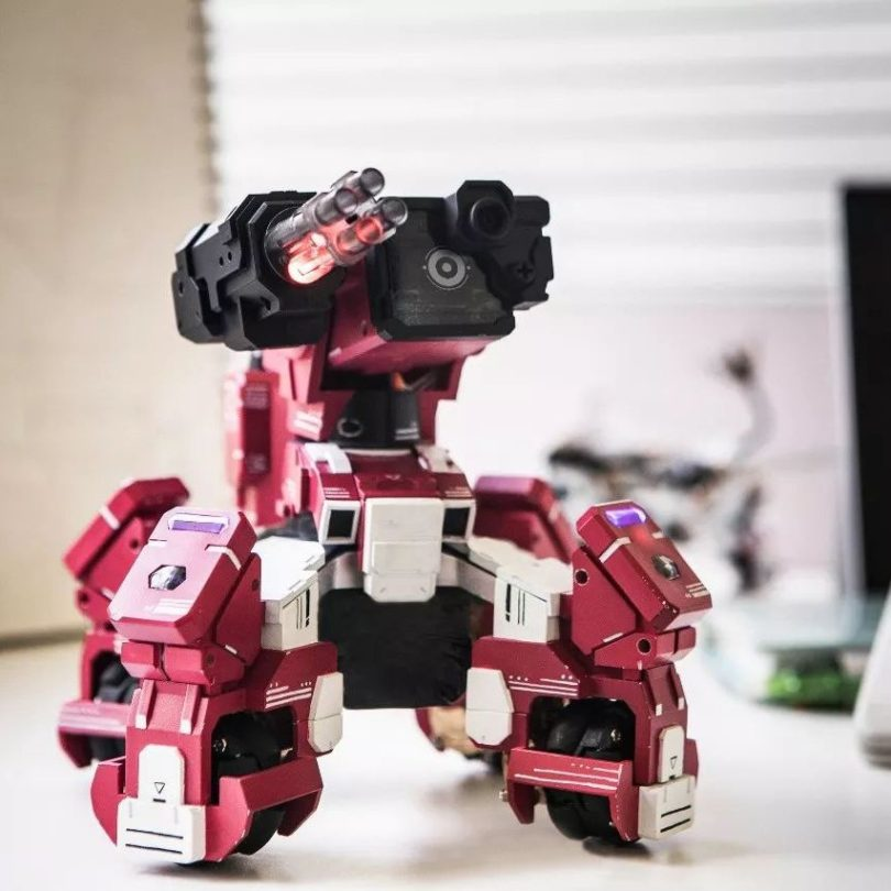 GEIO FPS Battle Bot With Visual Recognition