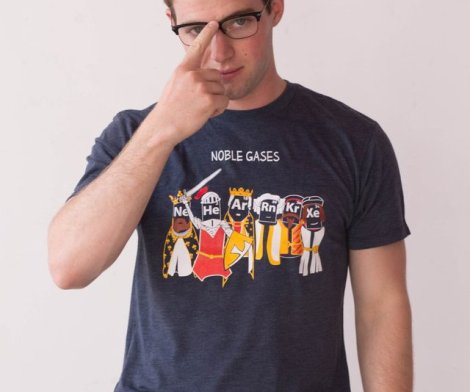 Noble Gases Chemistry T-shirt