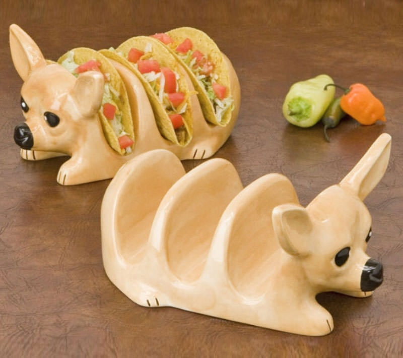 These Chihuahua Taco Holders Are Now The Only Proper Way To Prepare Tacos