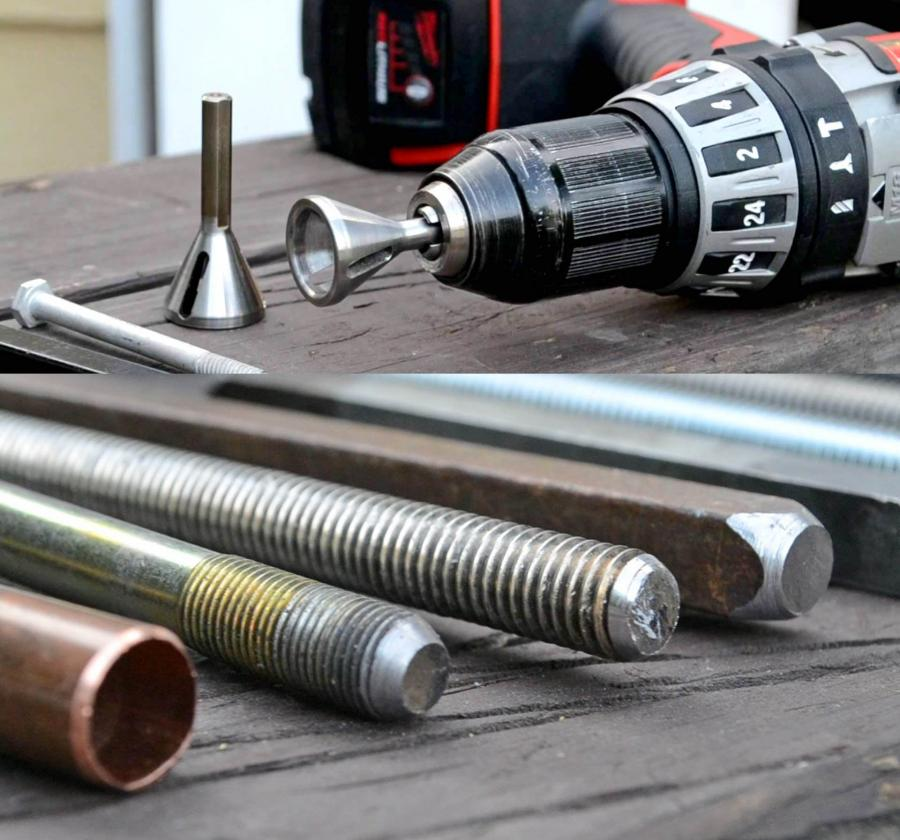 Uniburr: Deburring Tool That Repairs Damaged Bolts