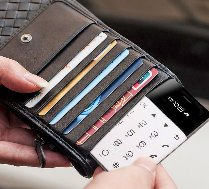 Gen2 – Credit Card Sized Phone Fits In Your Wallet