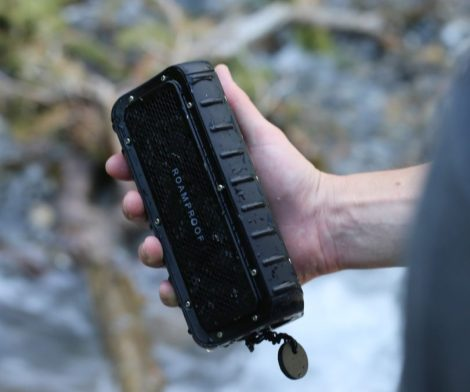 Macroboom Waterproof Solar Bluetooth Speaker