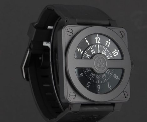 Bell & Ross Men's BR01-92COMPASS Watch