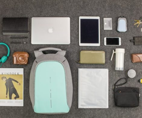 Mint Green Bobby Compact Anti-Theft Backpack