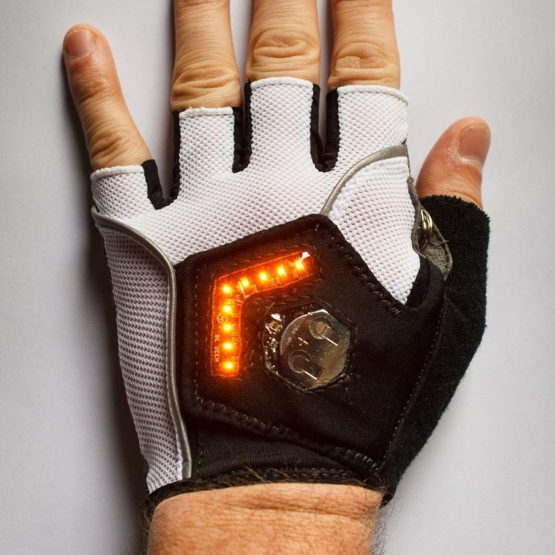 Zackees Turn Signal Cycling Gloves