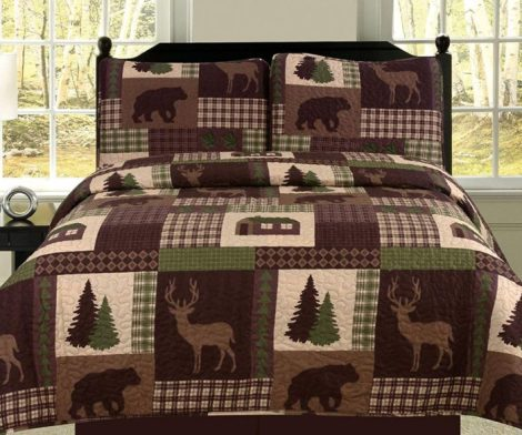 King Quilt 2 Piece Set