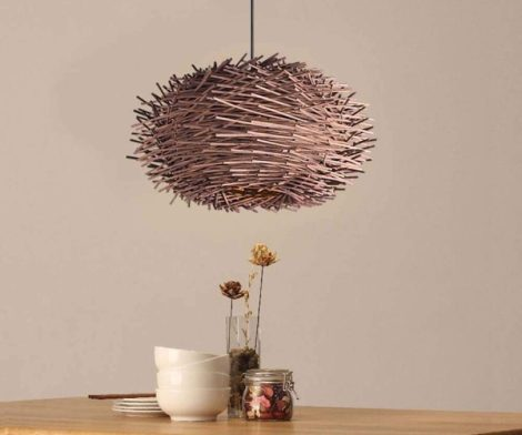 GAOLIQIN Creative Simple Bamboo Art Chandelier