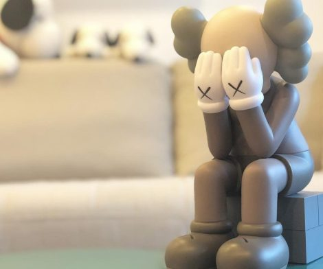 KAWS Passing Through Open Edition Vinyl Figure