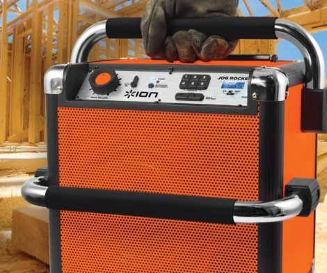 ION Job Rocker Bluetooth Portable Sound System