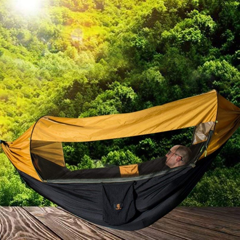 CHANTPOWER 3 in 1 Hammock with Mosquito Net