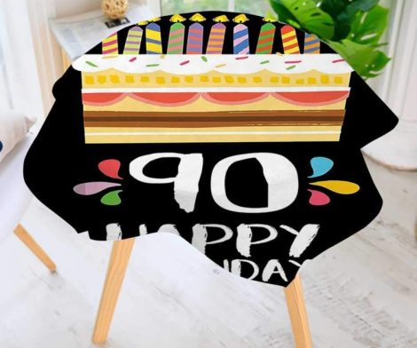 Printed Pattern Washable Table Cloth