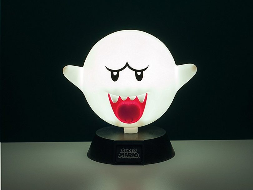 Super Mario Boo Ghost 3D Night Light