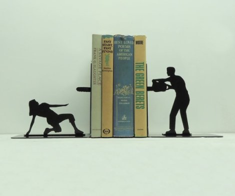 Chainsaw Attack Bookends