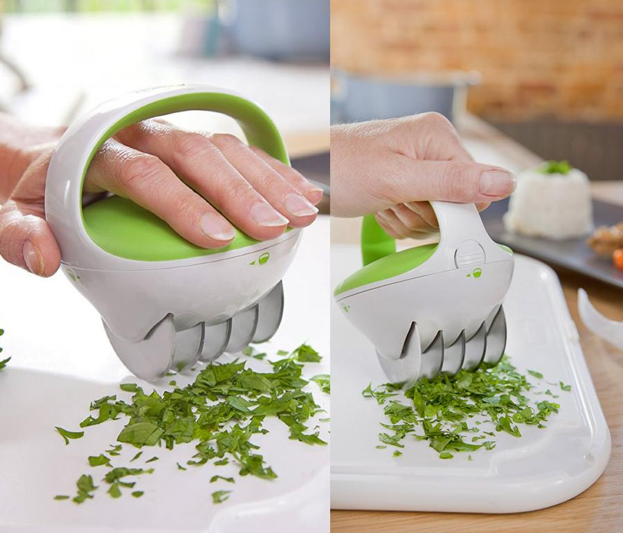 ZYLISS FastCut Herb Mincer Lets You Roll Over Herbs To Mince