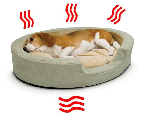 Heated Dog Bed