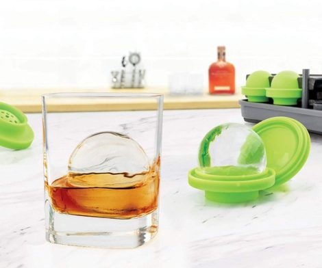 Crystal-Clear Sphere Ice Molds