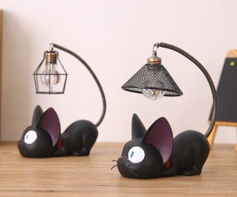Cat Design Bedside Lamp
