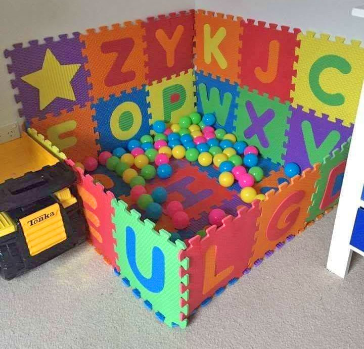 Interlocking Letter Play Mat Set