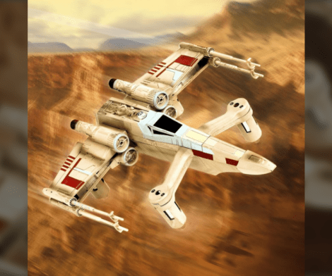 Star Wars X Wing Quadcopter