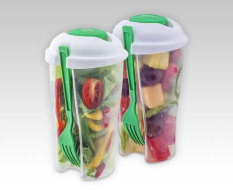 Portable Fresh Salad Containers