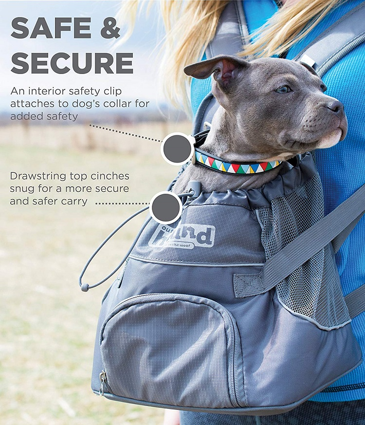 PoochPouch Dog Front Carrier – Safe & Secure