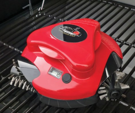 BBQ Grill Cleaning Robot