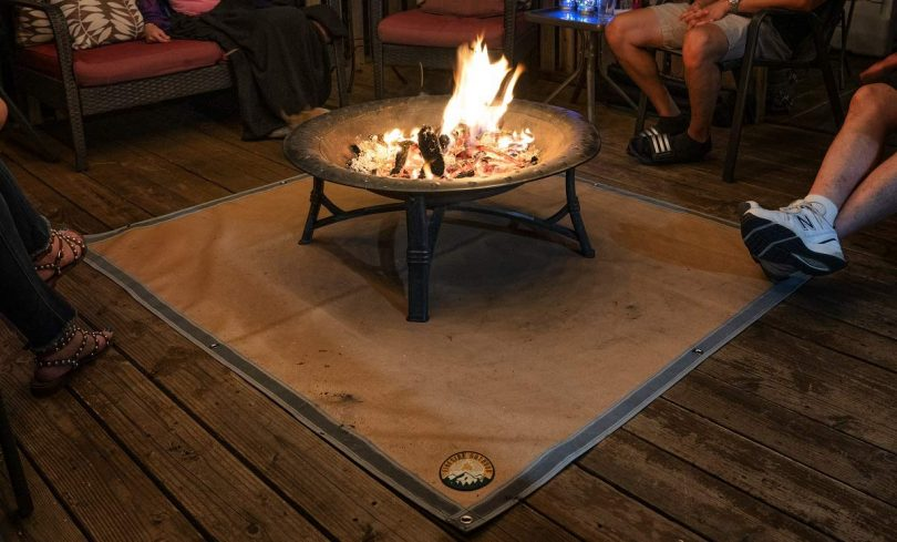 Ember Mat for BBQ Grill or Fire Pit