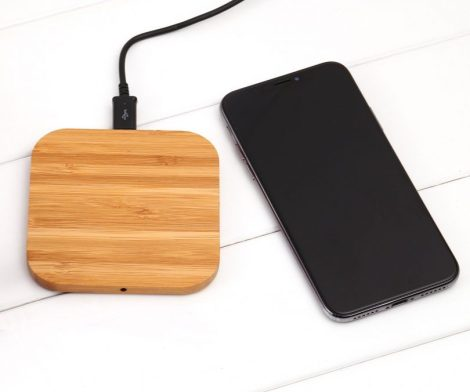 Fast Charging Wooden Pad