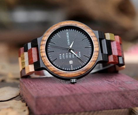 Handmade Colorful Wristwatch