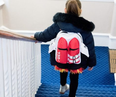 Kids Astronaut Jetpack School Bag