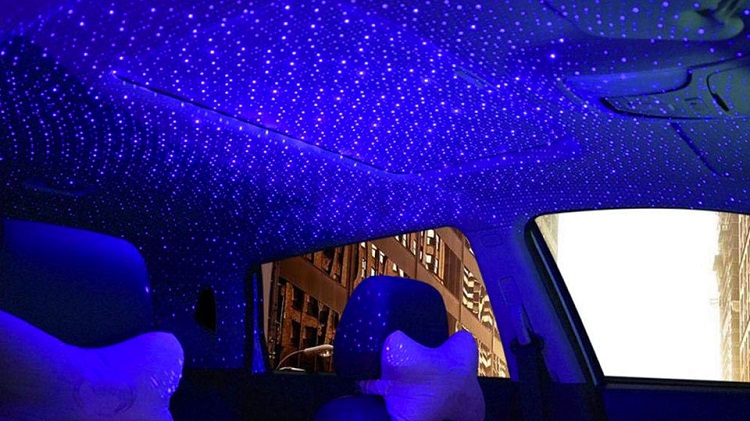 Car Roof Decorative Star Lights with Remote Control