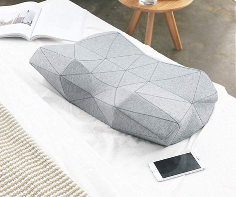 Ergonomic Anti-Snore Smart Music Pillow