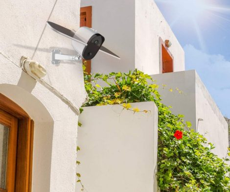 Outdoor Solar Powered Wireless IP Cam