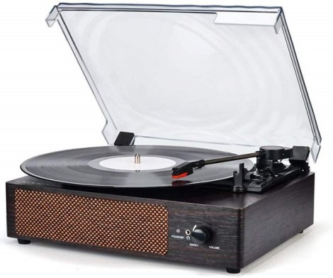 Wireless Turntable Record Player